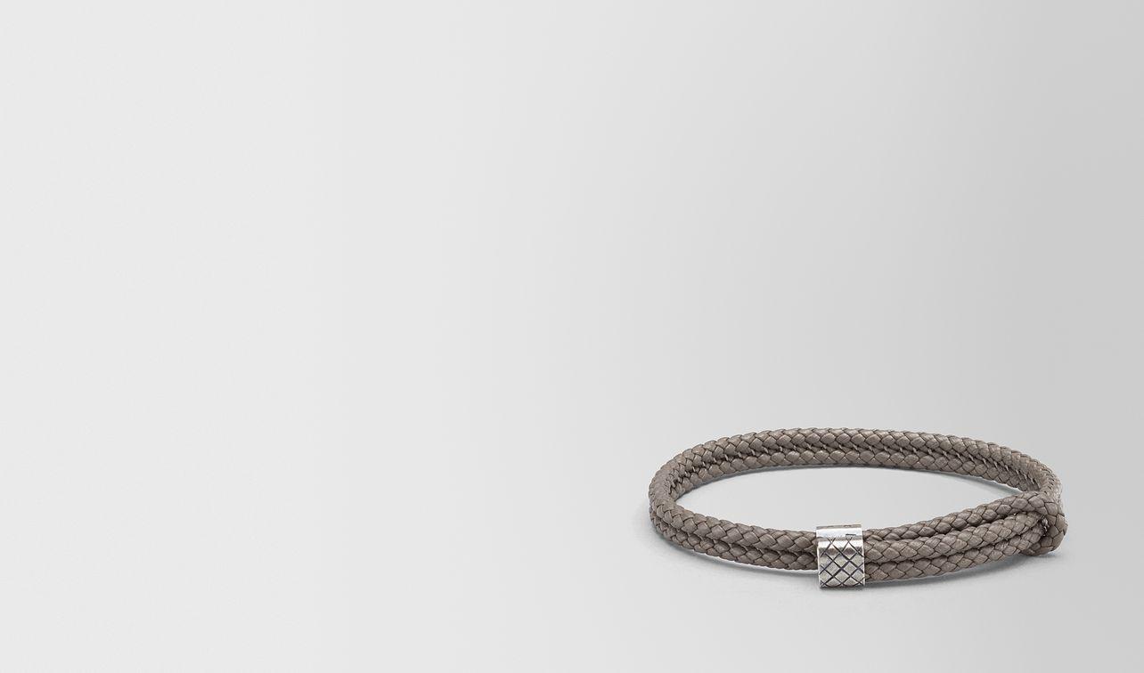 steel intrecciato nappa bracelet landing