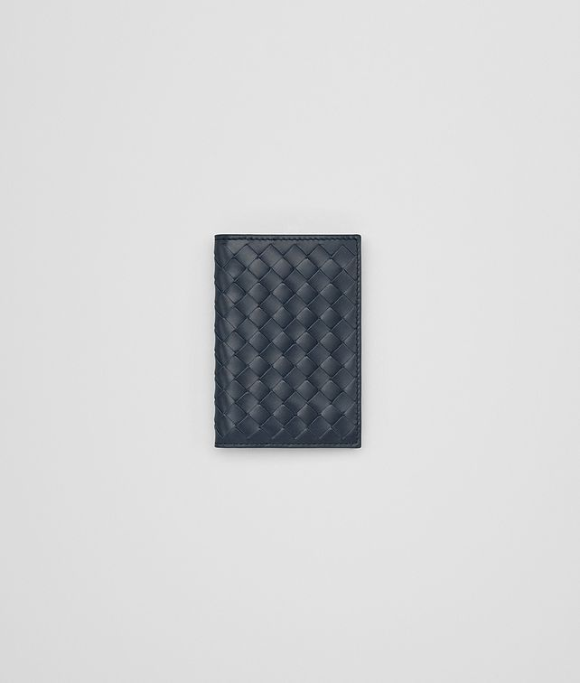 BOTTEGA VENETA DENIM INTRECCIATO CARD CASE Card Case or Coin Purse [*** pickupInStoreShippingNotGuaranteed_info ***] fp