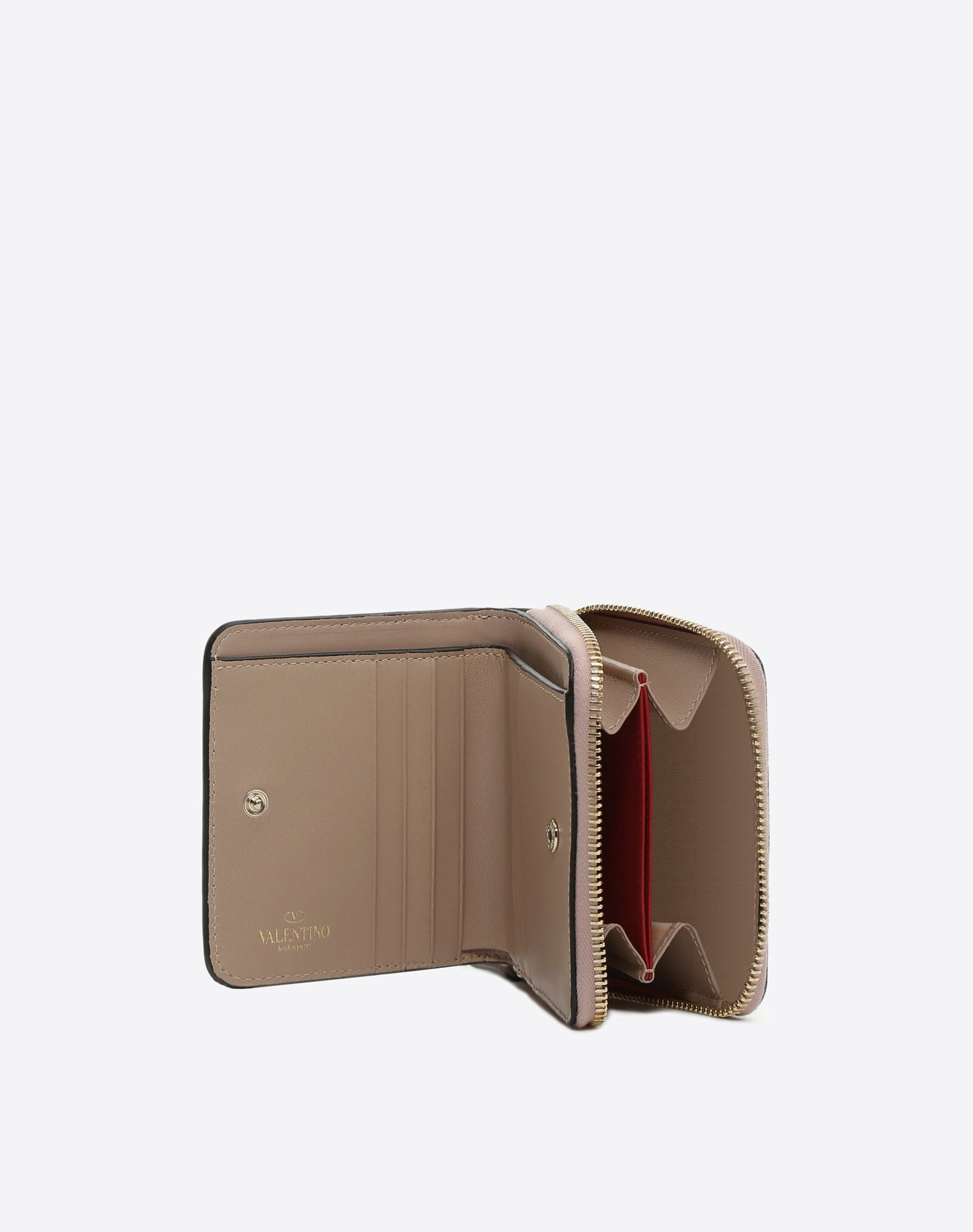 VALENTINO Studs Solid colour Zip closure Internal card slots  46513701ka