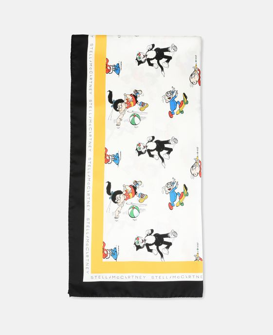 STELLA McCARTNEY The Dandy Print Scarf Scarf D c