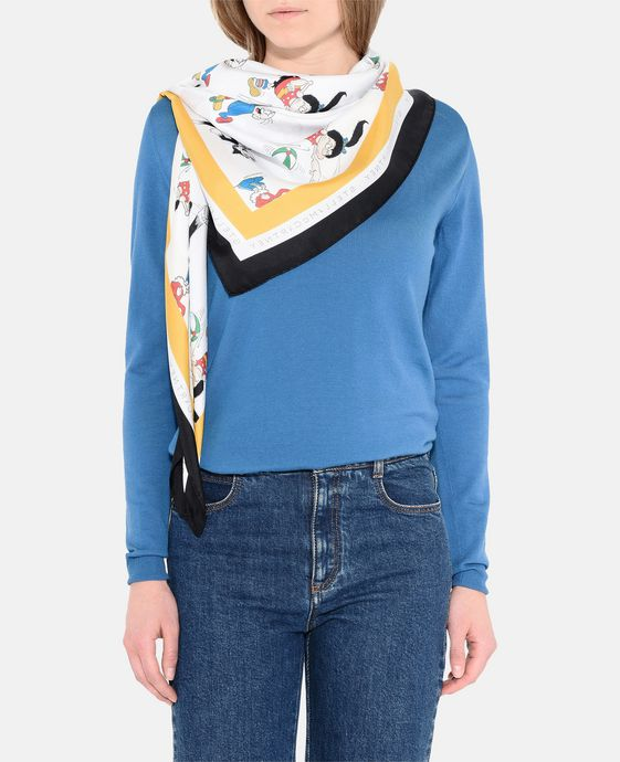 STELLA McCARTNEY The Dandy Print Scarf Scarf D h