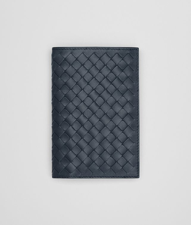 BOTTEGA VENETA BI-FOLD WALLET IN DENIM INTRECCIATO VN Bi-fold Wallet [*** pickupInStoreShippingNotGuaranteed_info ***] fp