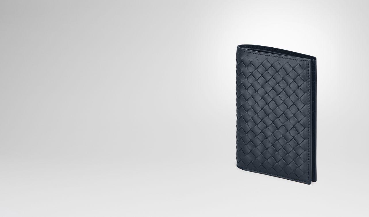 bi-fold wallet in denim intrecciato vn landing