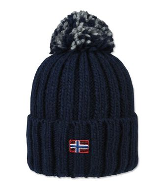 NAPAPIJRI ITANG WOMAN BEANIE,DARK BLUE