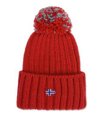 NAPAPIJRI ITANG WOMAN BEANIE,RED