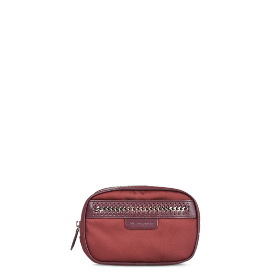 Burgundy Falabella GO Cosmetic Case Small