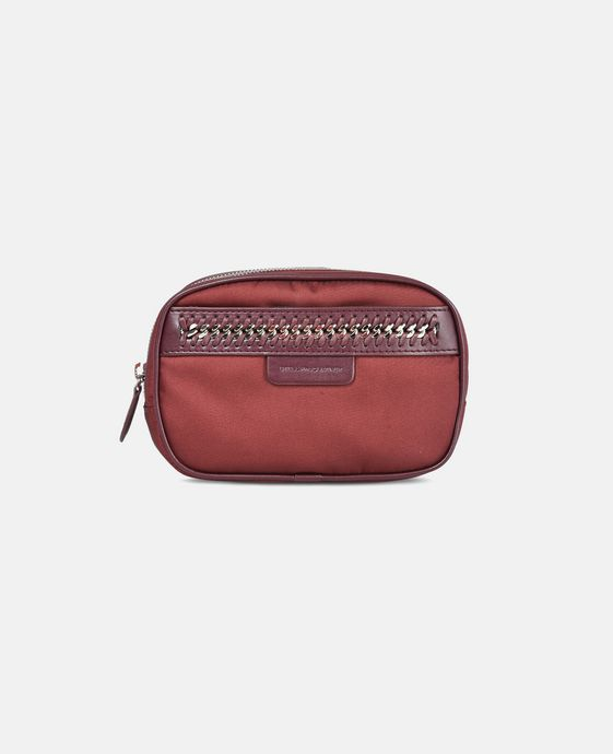 STELLA McCARTNEY Burgundy Falabella GO Cosmetic Case Small Other accessories D c