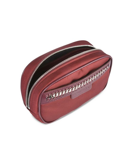 STELLA McCARTNEY Burgundy Falabella GO Cosmetic Case Small Other accessories D g