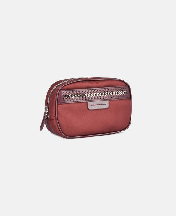 STELLA McCARTNEY Burgundy Falabella GO Cosmetic Case Small Other accessories D h