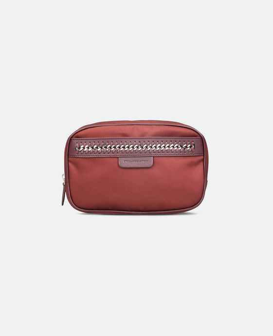 STELLA McCARTNEY Burgundy Big Falabella GO Cosmetic Case Other accessories D c