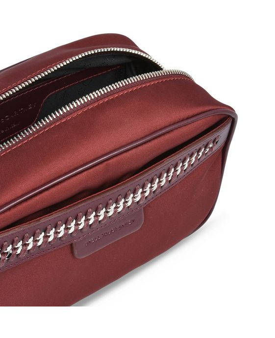 STELLA McCARTNEY Burgundy Big Falabella GO Cosmetic Case Other accessories D g