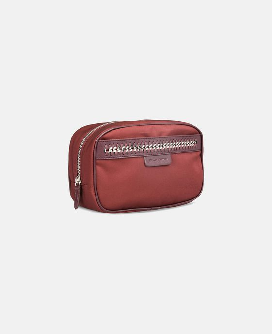 STELLA McCARTNEY Burgundy Big Falabella GO Cosmetic Case Other accessories D h