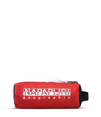 NAPAPIJRI HAPPY PENCIL CASE  PENCIL CASE,RED