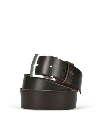 NAPAPIJRI PERTH MAN BELT,DARK BROWN