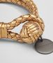 BOTTEGA VENETA BRACELET IN DARK GOLD INTRECCIATO GROS GRAIN Keyring or Bracelets E ap