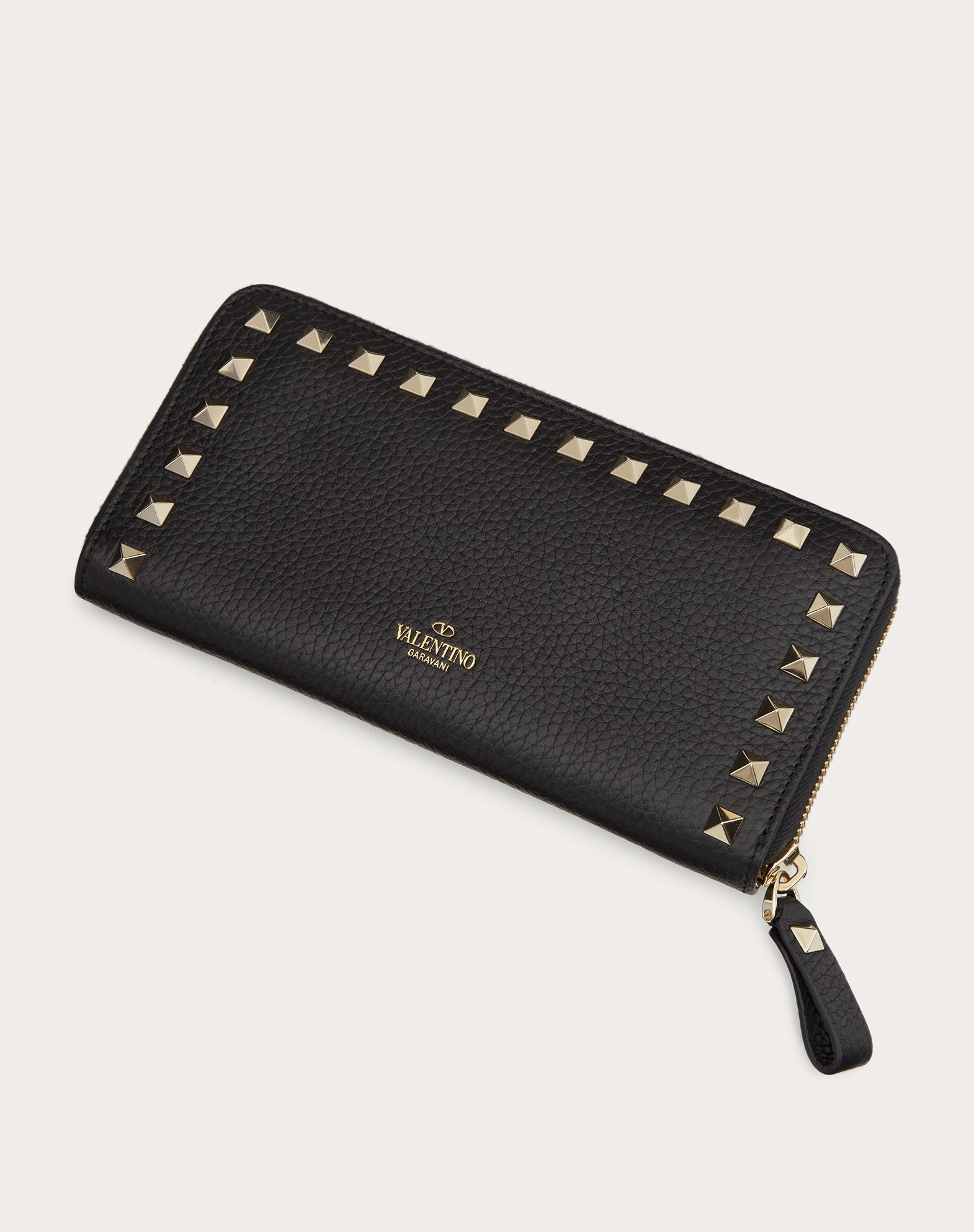 VALENTINO GARAVANI Rockstud Wallet ZIP AROUND WALLETS D d