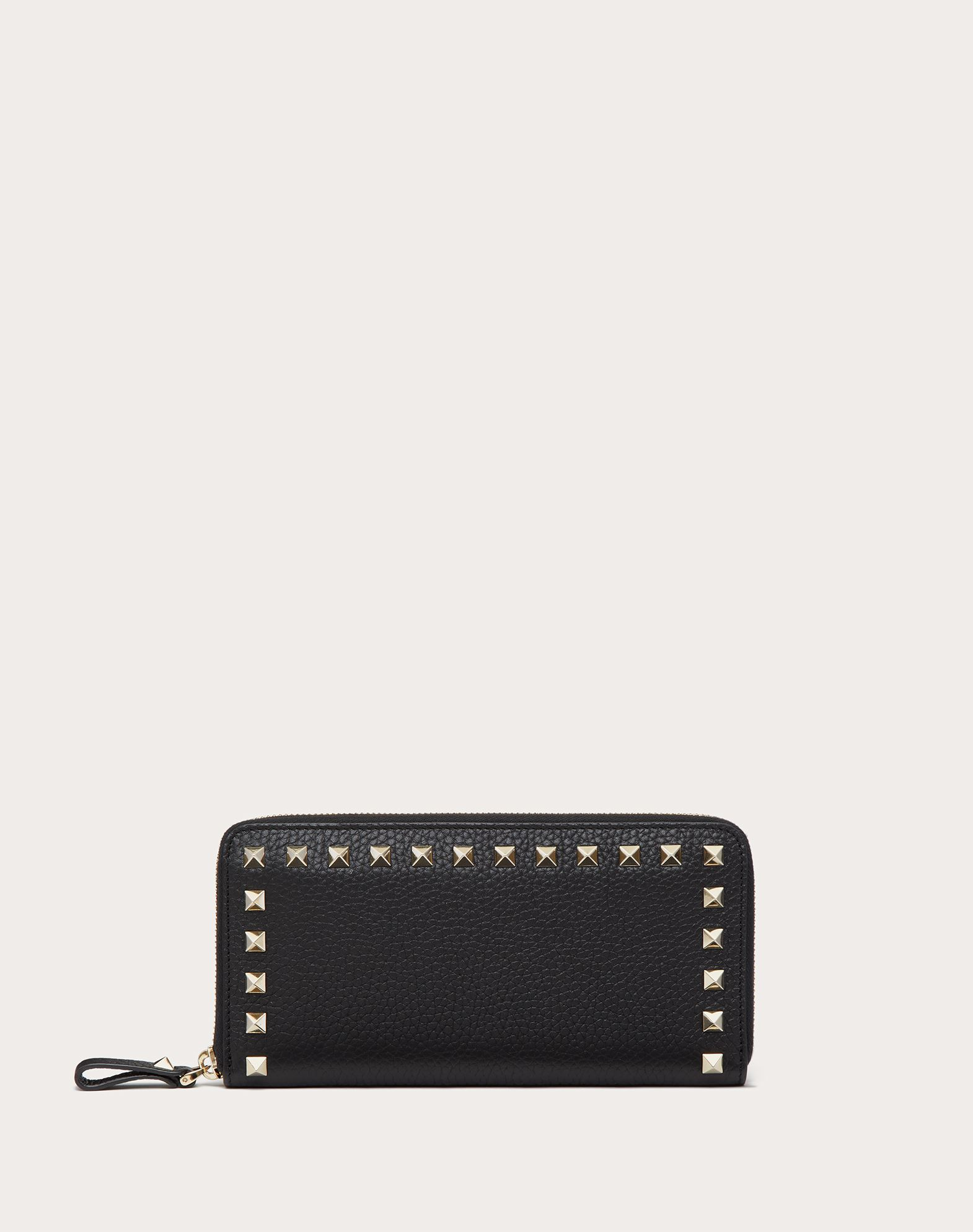 VALENTINO GARAVANI Rockstud Wallet ZIP AROUND WALLETS D f