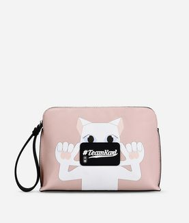 KARL LAGERFELD K/PHOTO CHOUPETTE POUCH