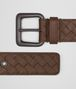 BOTTEGA VENETA BELT IN DARK CALVADOS INTRECCIATO VN Belt Man rp