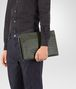 BOTTEGA VENETA DOCUMENT CASE IN MOSS INTRECCIATO VN Backpack Man ap