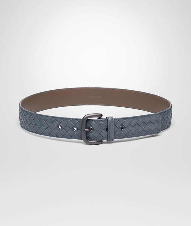 BOTTEGA VENETA BELT IN KRIM INTRECCIATO VN Belt Man fp