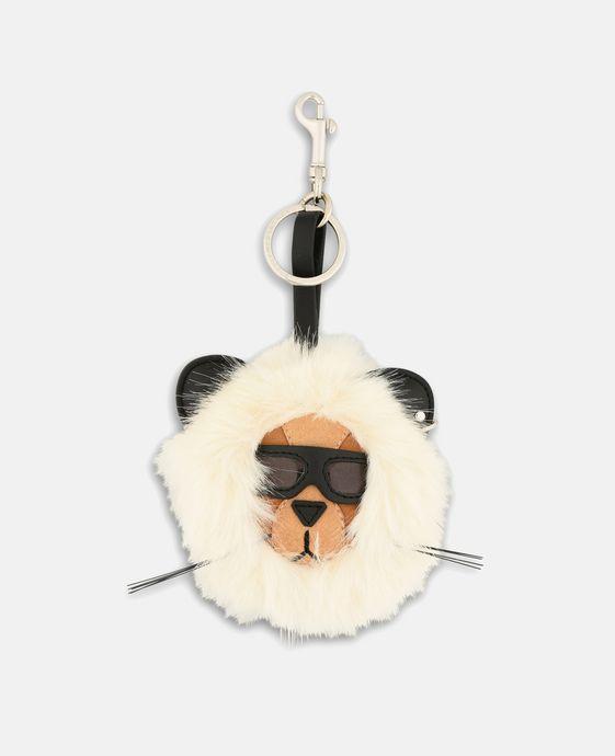 Fur Free Fur Lion Keychain
