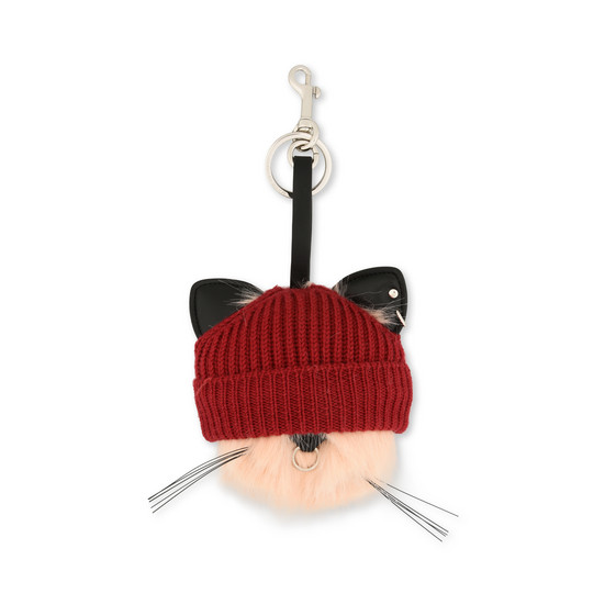 Fur Free Fur Kitty Keychain