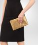 BOTTEGA VENETA MEDIUM DOCUMENT CASE IN DARK GOLD INTRECCIATO GROS GRAIN Other Leather Accessory E ap