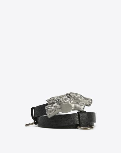 MAISON MARGIELA 11 Belt U Grained calfskin belt f