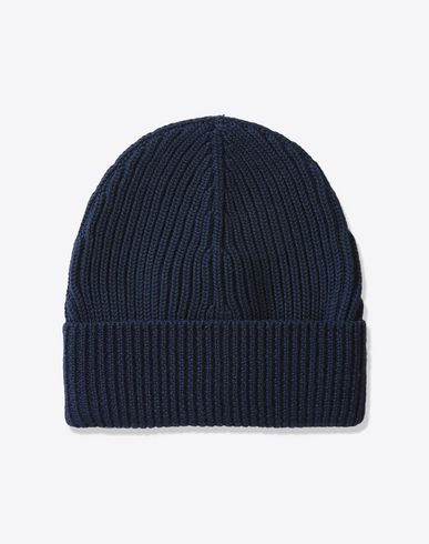 MAISON MARGIELA Hat U Rib knit wool beanie f