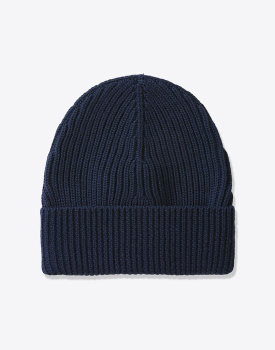 1841003be60 MAISON MARGIELA Rib knit wool beanie Hat       pickupInStoreShippingNotGuaranteed info