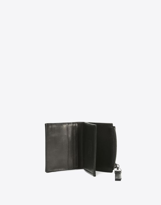 MAISON MARGIELA Calfskin wallet with coin pouch Wallet [*** pickupInStoreShippingNotGuaranteed_info ***] b