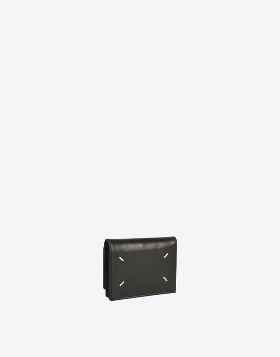 MAISON MARGIELA Calfskin wallet with coin pouch Wallet [*** pickupInStoreShippingNotGuaranteed_info ***] r