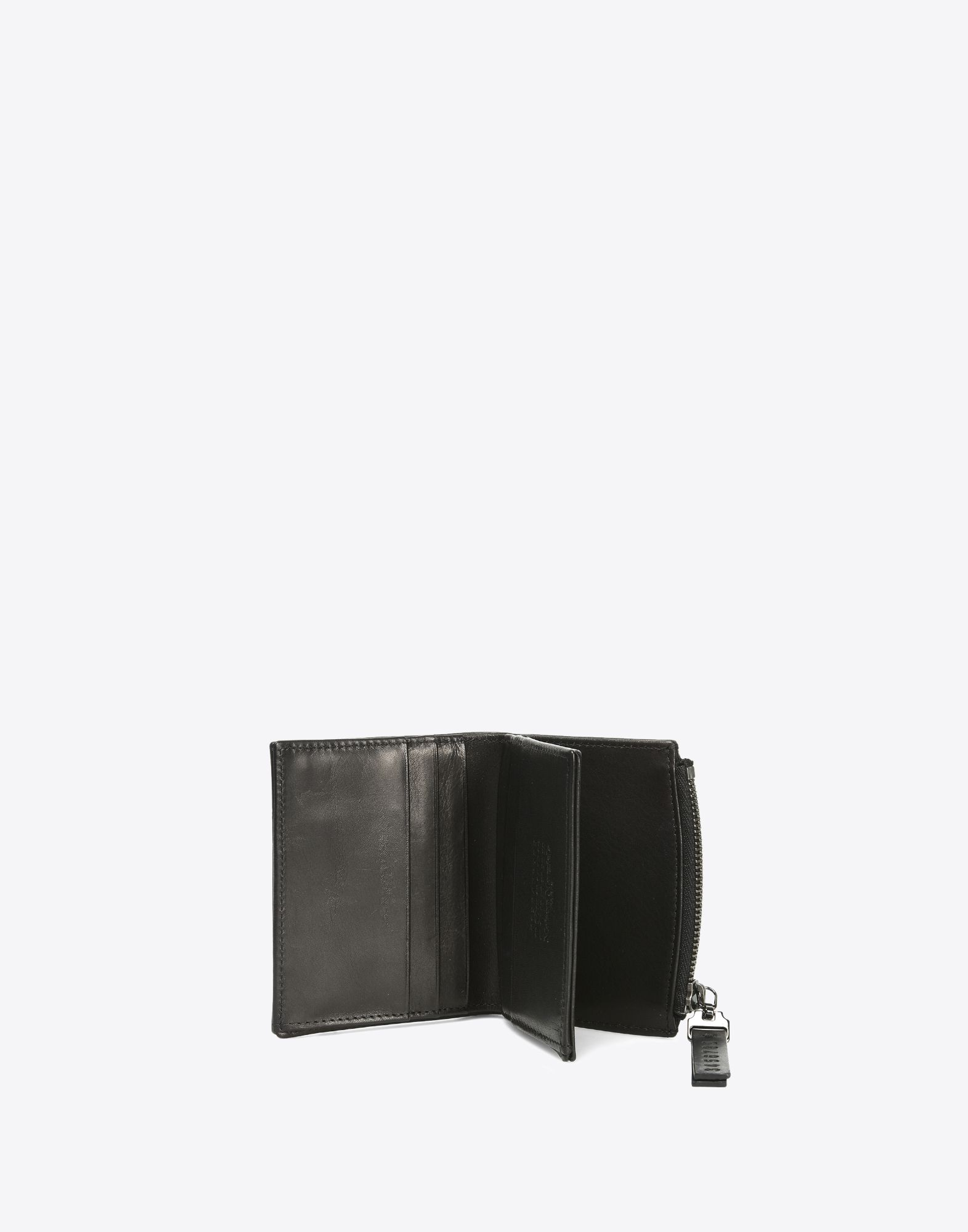 MAISON MARGIELA Calfskin wallet with coin pouch Wallets Man b