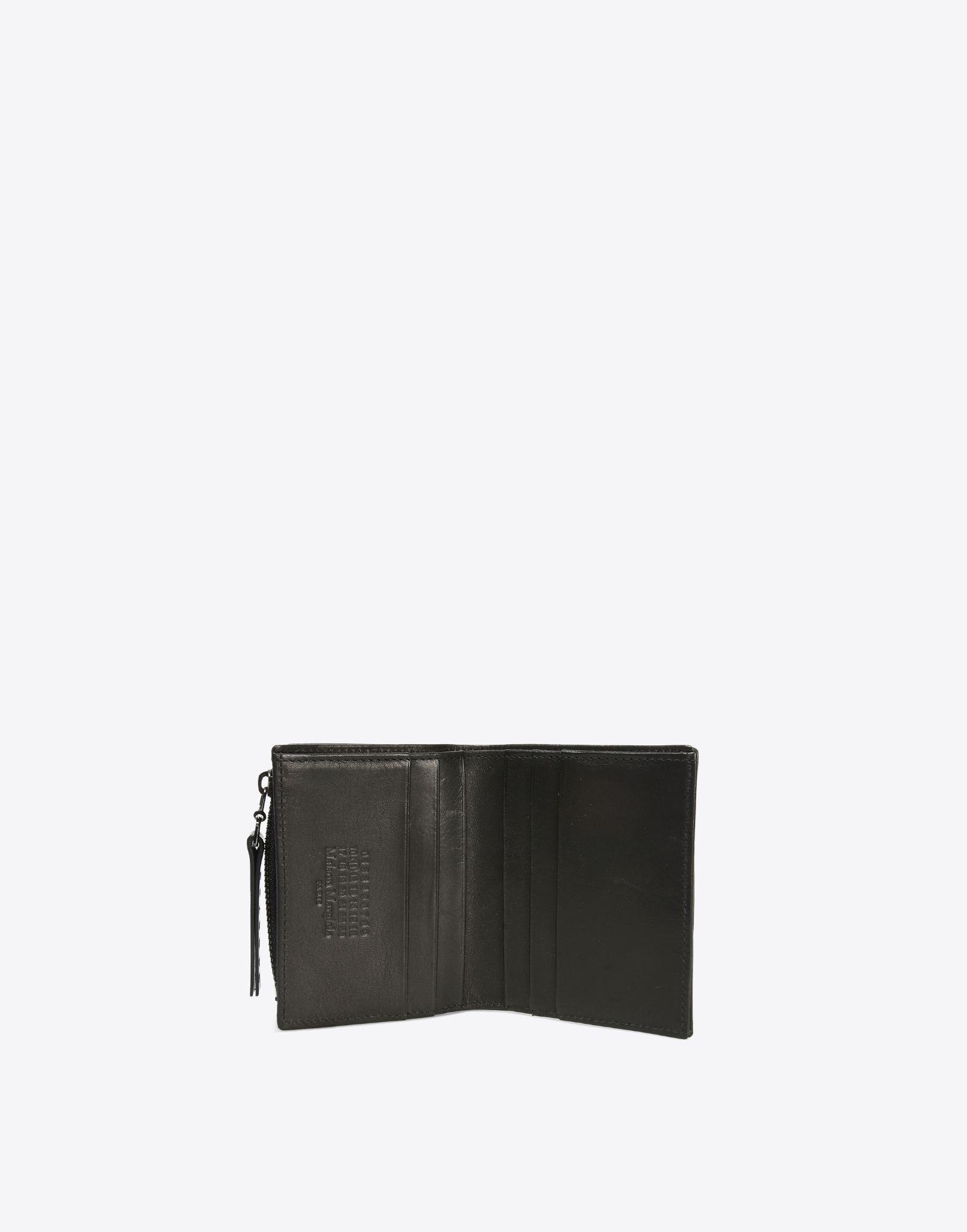 MAISON MARGIELA Calfskin wallet with coin pouch Wallets Man d