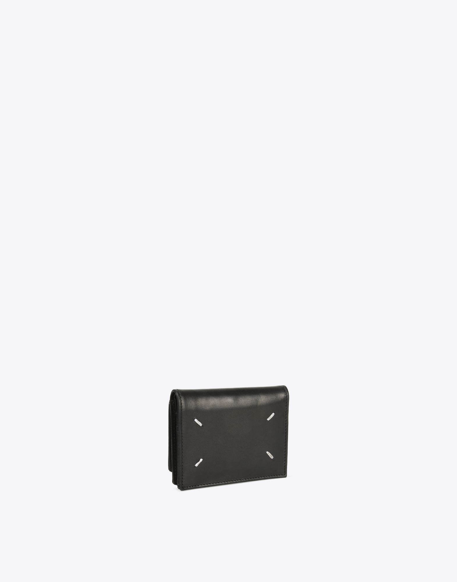 MAISON MARGIELA Calfskin wallet with coin pouch Wallets Man r