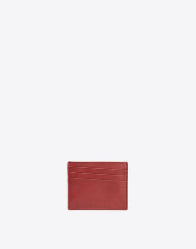 MAISON MARGIELA 11 Credit card holder U Grained calfskin credit card holder f