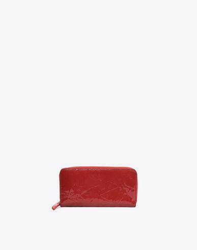 MAISON MARGIELA 11 Wallet D Creased patent calfskin wallet f