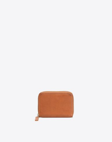 MAISON MARGIELA Wallets U Calfskin zip wallet f