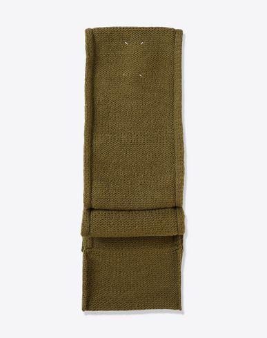 MAISON MARGIELA Scarf U Wool blend knit scarf f