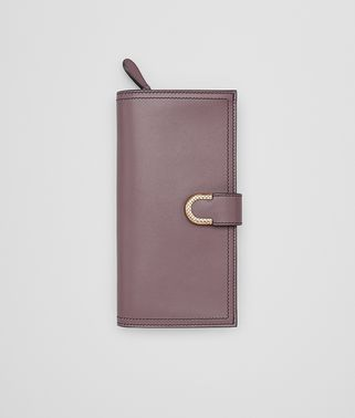 CONTINENTAL WALLET IN GLICINE CALF