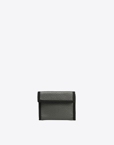 MAISON MARGIELA Wallets U Nylon and leather wallet f