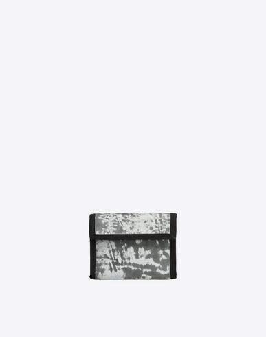 MAISON MARGIELA Wallets U Reflective nylon and leather wallet f