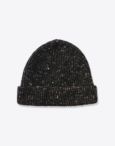 MAISON MARGIELA Hat U Knit wool blend beanie f