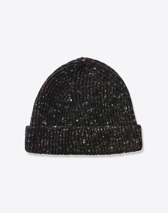 1b61da99ac1 MAISON MARGIELA Knit wool blend beanie Hat       pickupInStoreShippingNotGuaranteed info