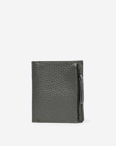 MAISON MARGIELA Wallet U Grained calfskin wallet f
