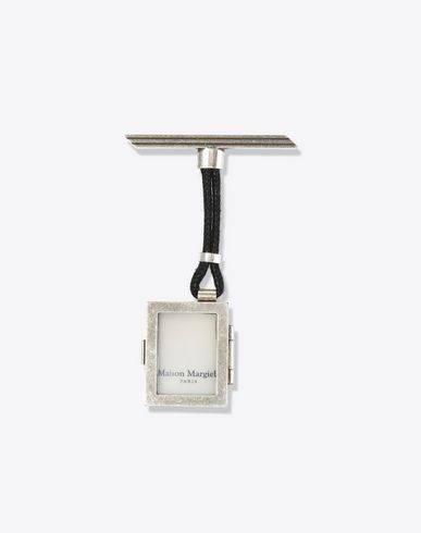 MAISON MARGIELA Brooches U Brooch with logo pendant f