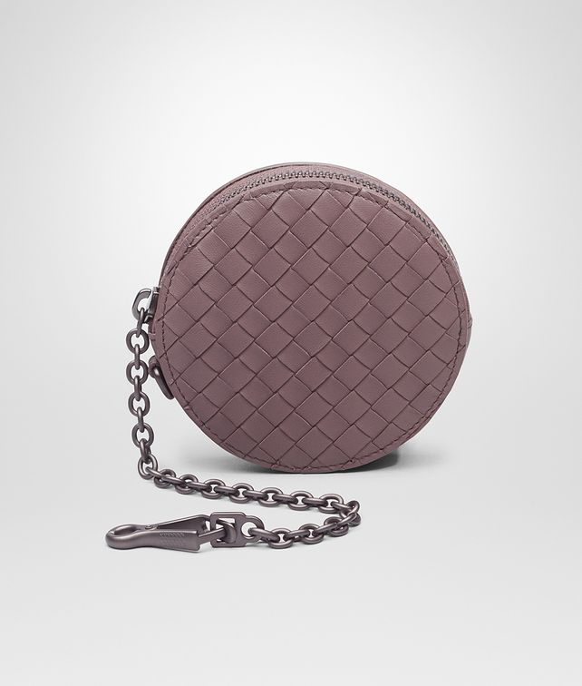 BOTTEGA VENETA KEY RING IN GLICINE INTRECCIATO NAPPA Keyring or Bracelets D fp