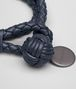 BOTTEGA VENETA BRACELET IN DENIM INTRECCIATO NAPPA Keyring or Bracelets E ap