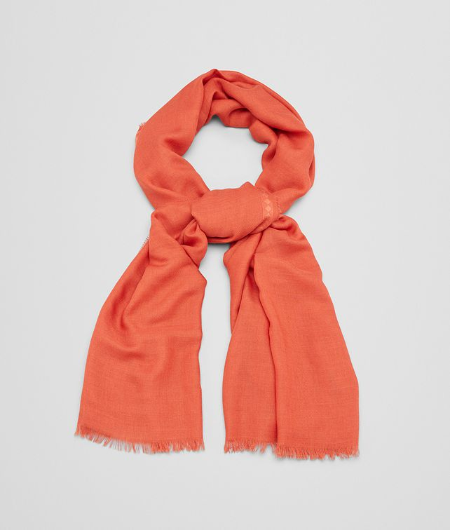 BOTTEGA VENETA FLAME WOOL SILK STOLE Scarf or other D fp